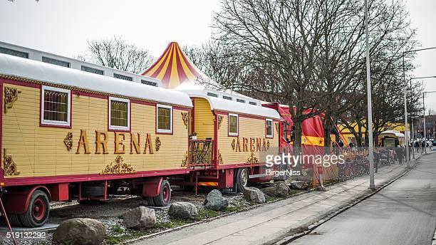 Magnifiquement décorées Cirque breaks, Copenhague, Danemark