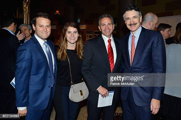 Finer Carly Weinrab David Weinreb and David Hildalgo attend Strolling Supper Lung Cancer Research Foundation's Fourteenth Annual Strolling Supper at...
