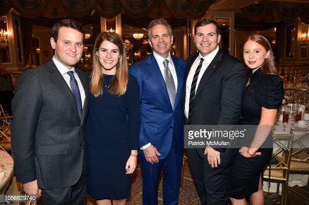 AJ Finer Carly Weinreb David Weinreb Zach Weinreb and Jackie Oshry attend Alzheimer's Drug Discovery Foundation's Ninth Annual Fall Symposium...