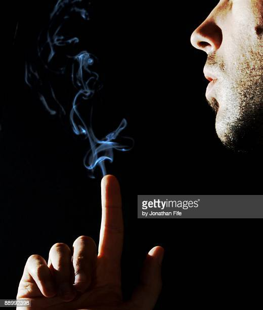 Finger smoke