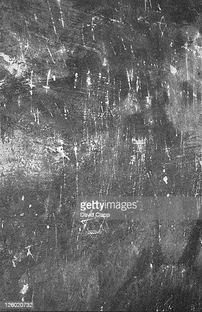 fingernail scratches in main gas chamber, birkenau concentration camp, auschwitz, poland - birkenau stock pictures, royalty-free photos & images