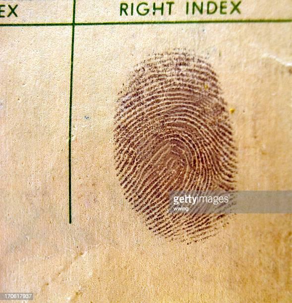 Fingerprint - Vintage