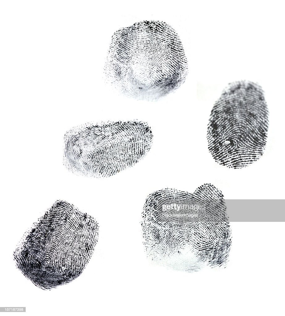 Fingerprints : Stock Photo