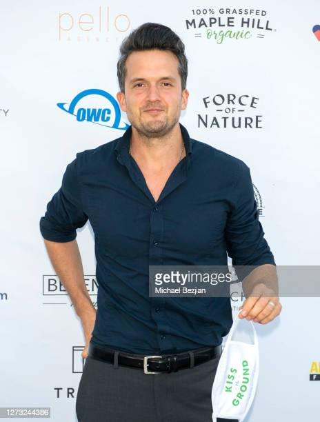 Finian Makepeace attends Kiss The Ground Los Angeles DriveIn Special Screening at Andaz West Hollywood on September 17 2020 in West Hollywood...