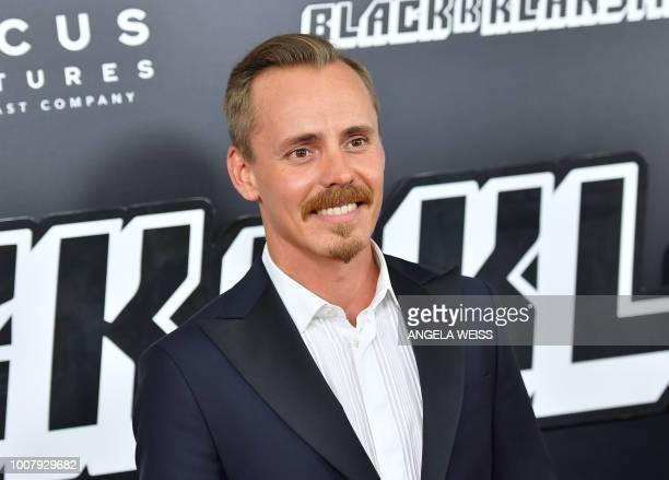 Finish actor Jasper Paakonen attends the 'BlacKkKlansman' New York Premiere at BAM Harvey Theater on July 30 2018 in Brooklyn New York