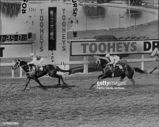 Rosehill Races Race 3 Finish Another Phenomenon September 10 1983