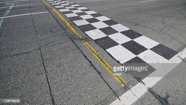 finish line - motorsport stock pictures, royalty-free photos & images