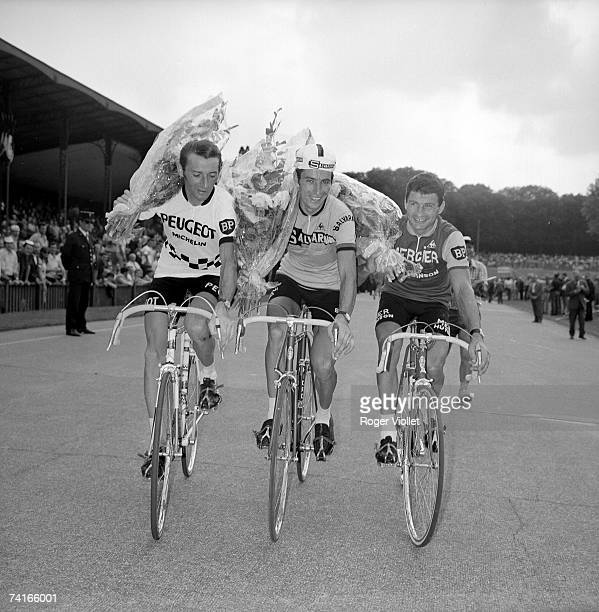 Finish of the 1969 Tour of France Roger Pingeon Felice Gimondi and Raymond Poulidor