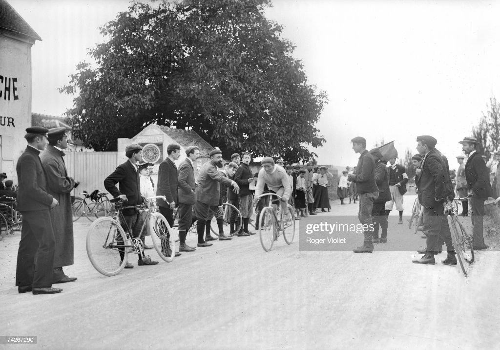 Finish of the Tour de France, ...