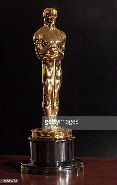 A finished Oscar statue is on display at the RS Owens factory February 18 2010 in Chicago Illinois The Oscars will be presented at the Academy Awards...