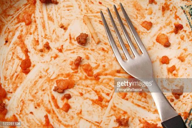 Finished spaghetti
