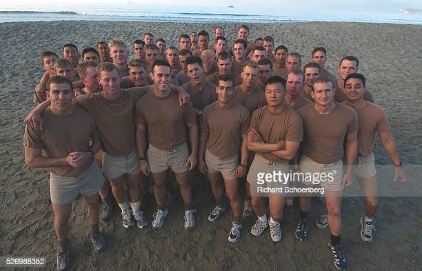 Finishing Navy Seal training Coronado beach Class 246