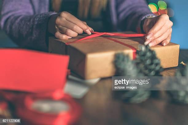 Finishing up Christmas gifts