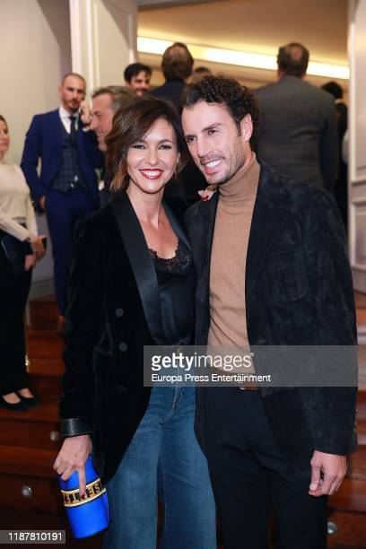 Finito de Cordoba and Arancha del Sol attend 'Capote de las Artes 2019' awards at Hotel Wellington on November 14, 2019 in Madrid, Spain.