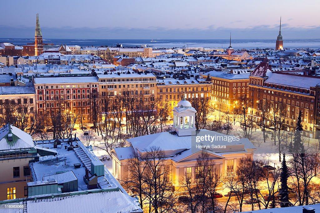 Finland, Helsinki, St. John's Church : Stock Photo