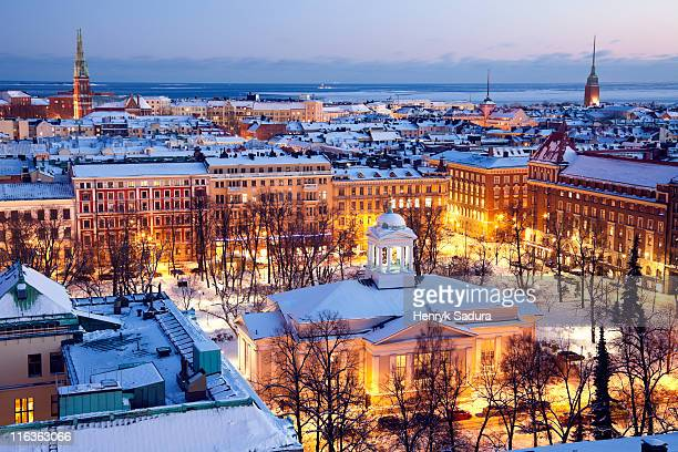 finland, helsinki, st. john's church - finland stock pictures, royalty-free photos & images