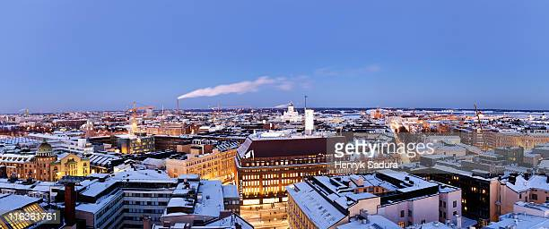Finland, Helsinki, Uspenski Cathedral and Lutheran Cathedral