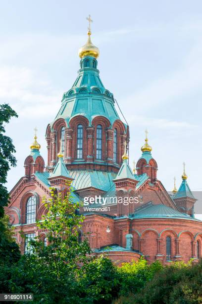 Finland, Helsinki, Uspenski Cathedral