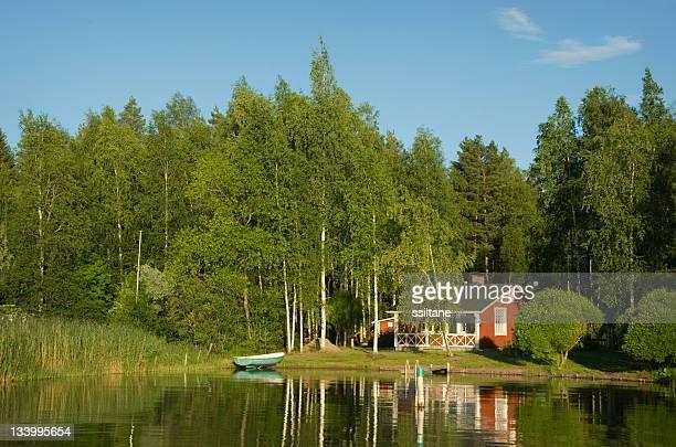 Finland Lake Summer Cottage