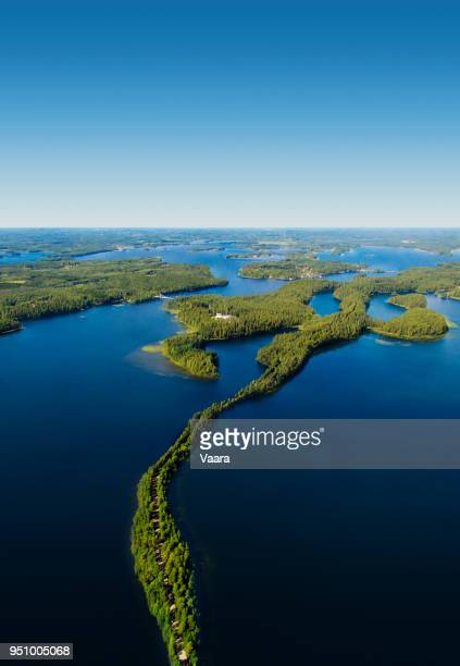 finland national landscape - finland stock pictures, royalty-free photos & images