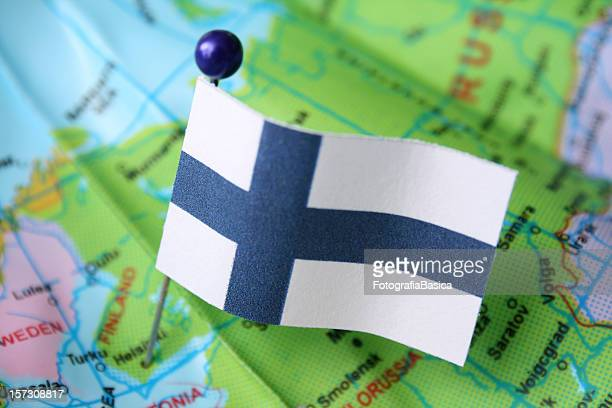 finland - finnish flag stock photos and pictures