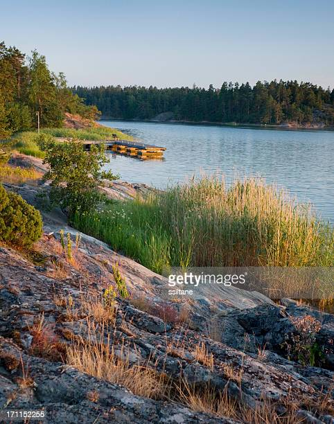 Finland Scandinavia Archipelago Sunset