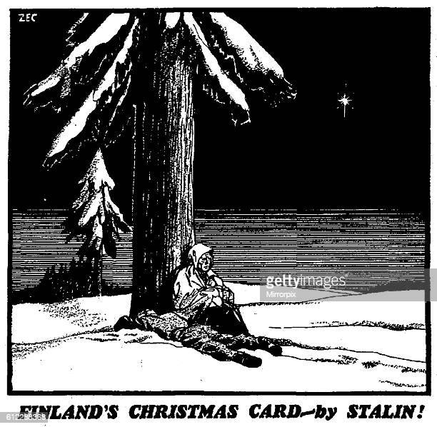 Finland's Christmas Card by Stalin 8th December 1939