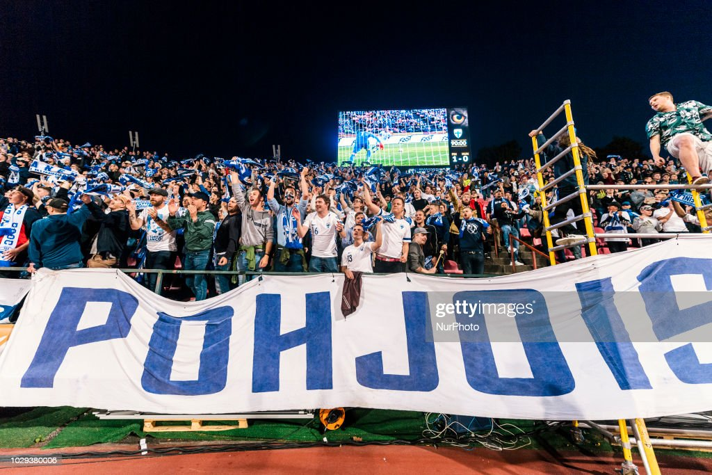 Finland S Fans After Finland Won The Uefa Nations League Football News Photo Getty Images