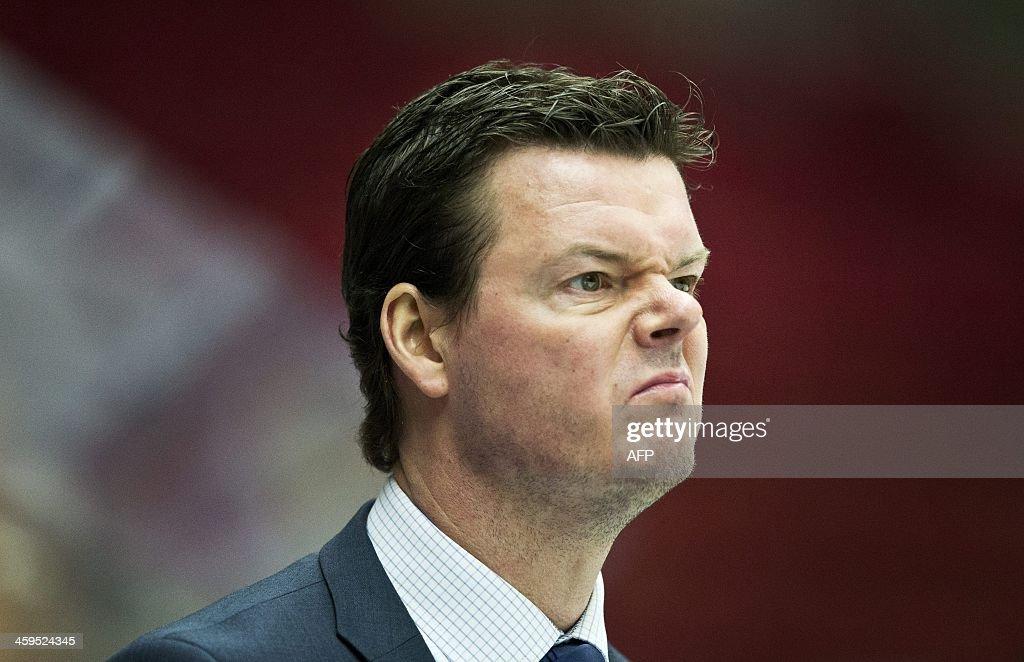IHOCKEY-JUNIOR-SWEDEN-IIHF : News Photo