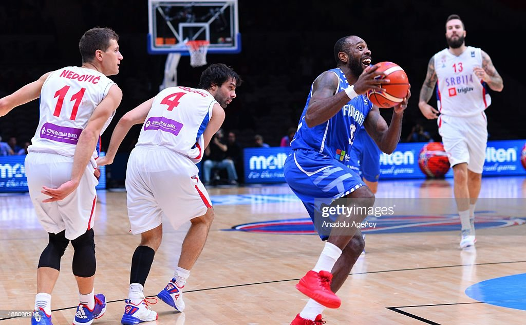 Serbia vs Finland: FIBA Eurobasket 2015 : News Photo