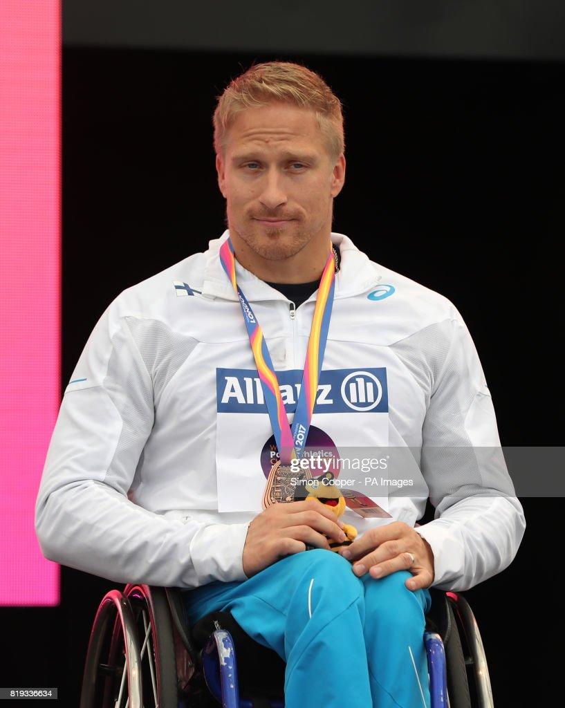 2017 World Para Athletics Championships - Day Five - London Stadium : News Photo
