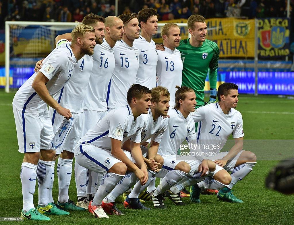 FBL-WC-2018-UKR-FIN : News Photo