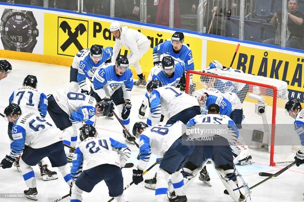 SVK: Canada v Finland: Final - 2019 IIHF Ice Hockey World Championship Slovakia