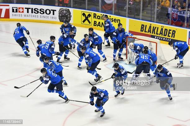 SVK: Finland v Sweden: Quarter Final - 2019 IIHF Ice Hockey World Championship Slovakia