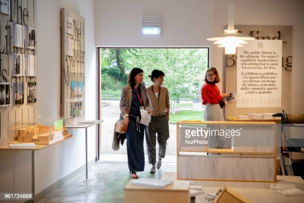 Finlands representation at the 16th International Architecture Exhibition of La Biennale di Venezia in Venice Italy on May 23 2018 responds to the...
