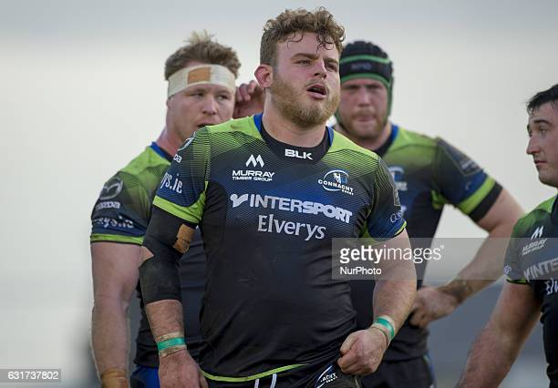 Finlay Bealham of Connacht pictured during the European Rugby Champions Cup Round 5 match between Connacht Rugby and Zebre Rugby at the Sportsground...