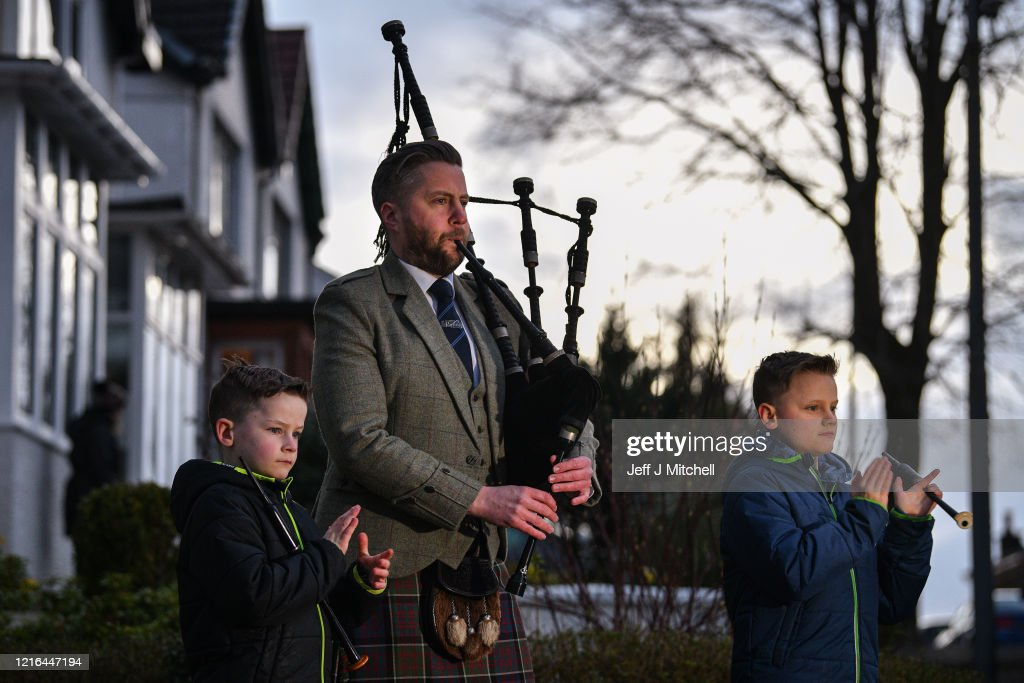 Finlay Macdonald And His Sons Elliott Ten And Fionn Eight Play News Photo Getty Images