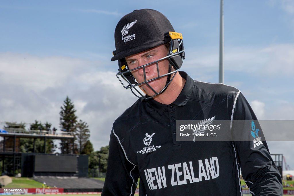 ICC U19 Cricket World Cup - New Zealand v South Africa