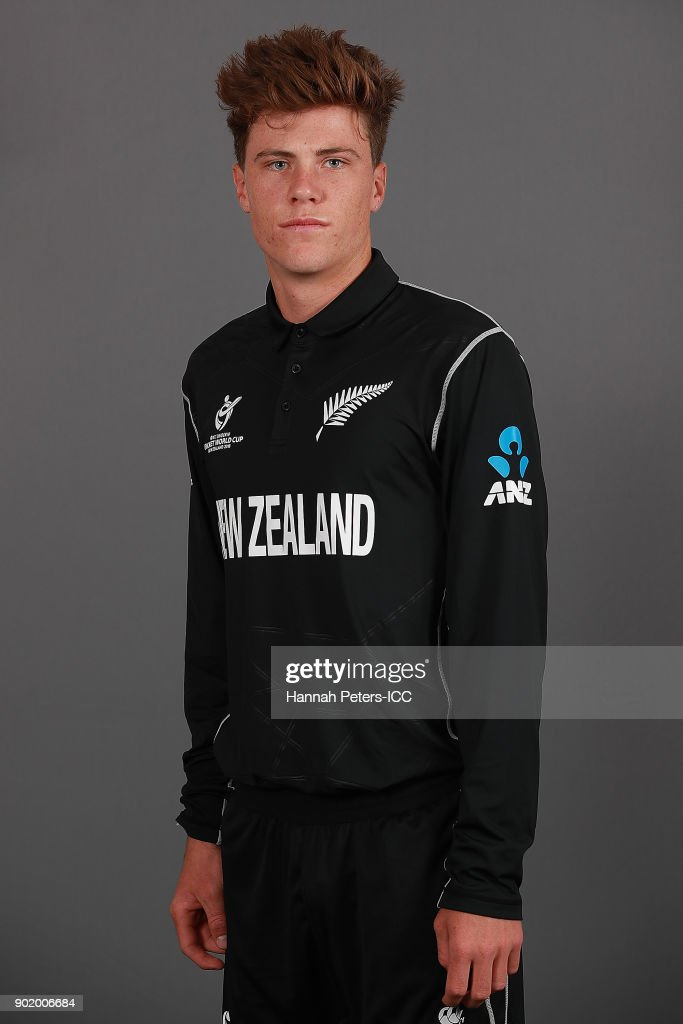 New Zealand ICC U19 Cricket World Cup Headshots Session
