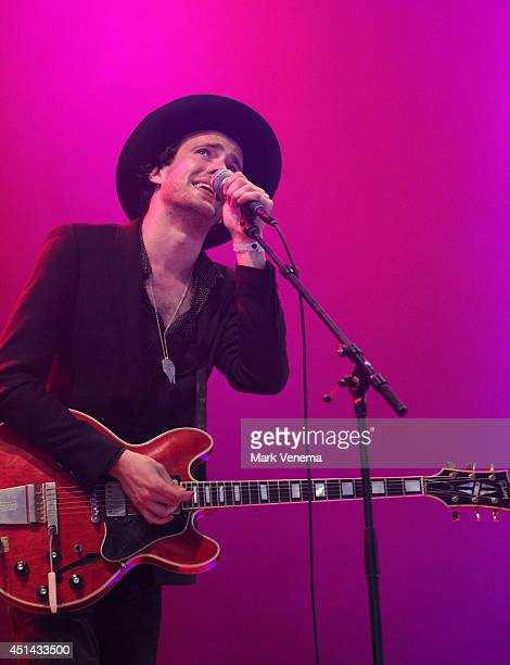 Finn Andrews of The Veils performs at Day 2 of Down The Rabbit Hole Festival at De Groene Heuvels on June 28 2014 in Beuningen Netherlands