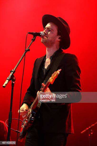 Finn Andrews of The Veils performs at day two of Down The Rabbit Hole Festival at De Groene Heuvels on June 28 2014 in Beuningen Netherlands