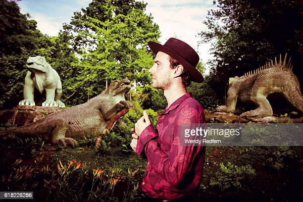 Finn Andrews of The Veils poses for a portrait on JULY 29th 2016 in London