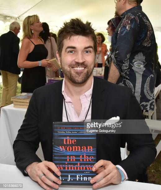 Finn attends Authors Night At East Hampton Library on August 11, 2018 in East Hampton, New York.