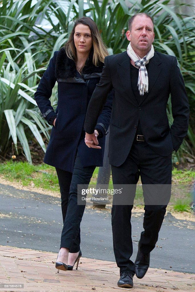 Finn Batato arrives to appear with Kim Dotcom in New Zealand's High Court on August 29, 2016 in Auckland, New Zealand. Dotcom and his law team are now challenging the extradition ruling against him. The case is expected to run up to eight weeks.