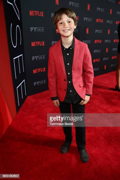 Finn Carr attends the Netflix FYSEE Kick-Off at Netflix FYSEE At Raleigh Studios on May 6, 2018 in Los Angeles, California.