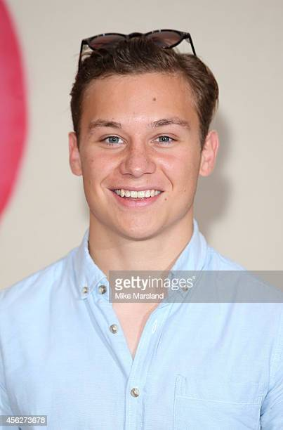 Finn Cole attends Peaky Blinders London Preview Screening at Ham Yard Hotel on September 28 2014 in London England