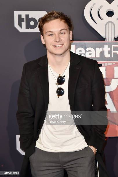 Finn Cole attends the 2017 iHeartRadio Music Awards Arrivals at The Forum on March 5 2017 in Inglewood California