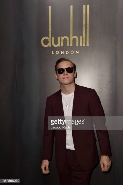 Finn Cole attends the Dunhill London Menswear Spring/Summer 2019 show as part of Paris Fashion Week on June 24 2018 in Paris France