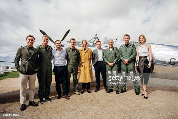 Finn Cole David Coulthard Dermont O'Leary Christoph GraingerHerr The Duke of Richmond Taron Egerton Steve Boultbee Brooks Matt Jones and Rosamund...