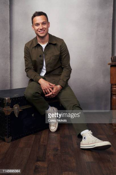 Finn Cole of the film 'Dreamland' poses for a portrait during the 2019 Tribeca Film Festival at Spring Studio on April 28 2019 in New York City